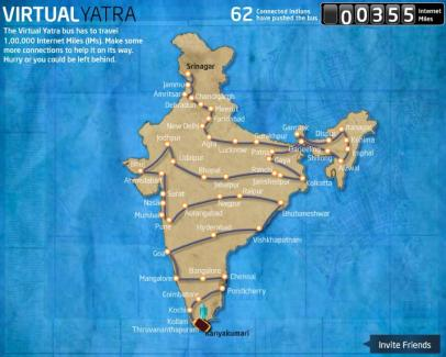 Virtual Yatra on Facebook
